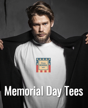Find unique Memorial Day t-shirts, hoodies and hats