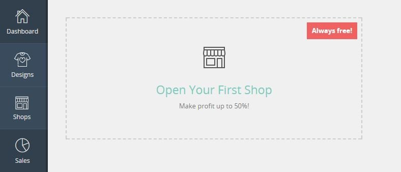 Make Money - Open Your First Shop With Customon
