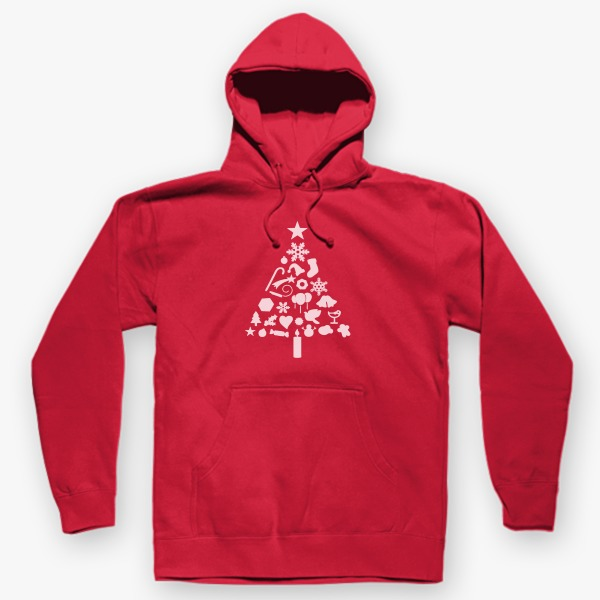 12 Days Christmas Gift Ideas for Teachers: Christmas Tree Hoodie