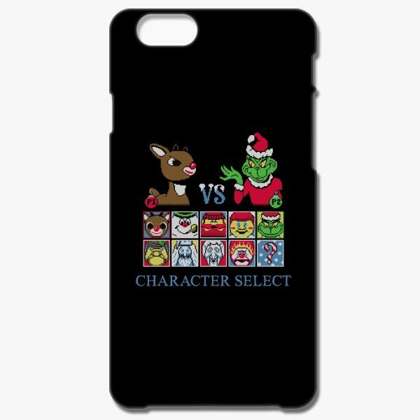12 Days of Christmas Gift Ideas Christmas Fighter Iphone 6/6 S Case Black