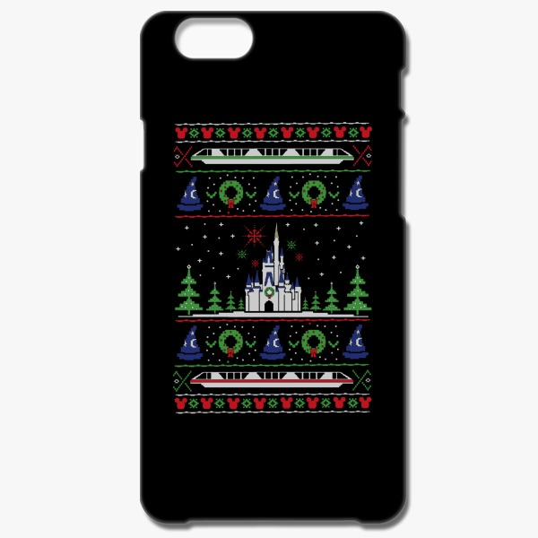 12 Days of Christmas Gift Ideas for Teachers Magical Kingdom Christmas iPhone 6-6s Case