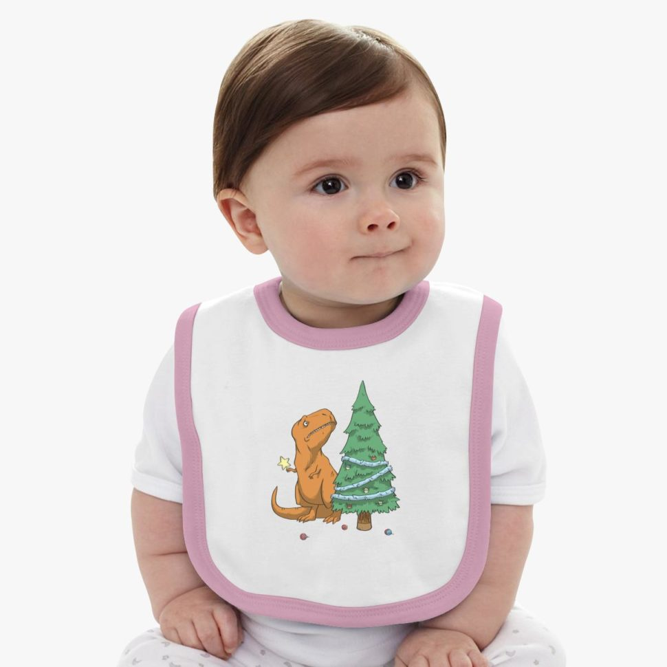 12 Days of Christmas Gifts for Kids: The Struggle Christmas Baby Bib