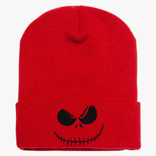 12 Days of Christmas Gifts for Teens: Nightmare Before Christmas Knit Cap Red