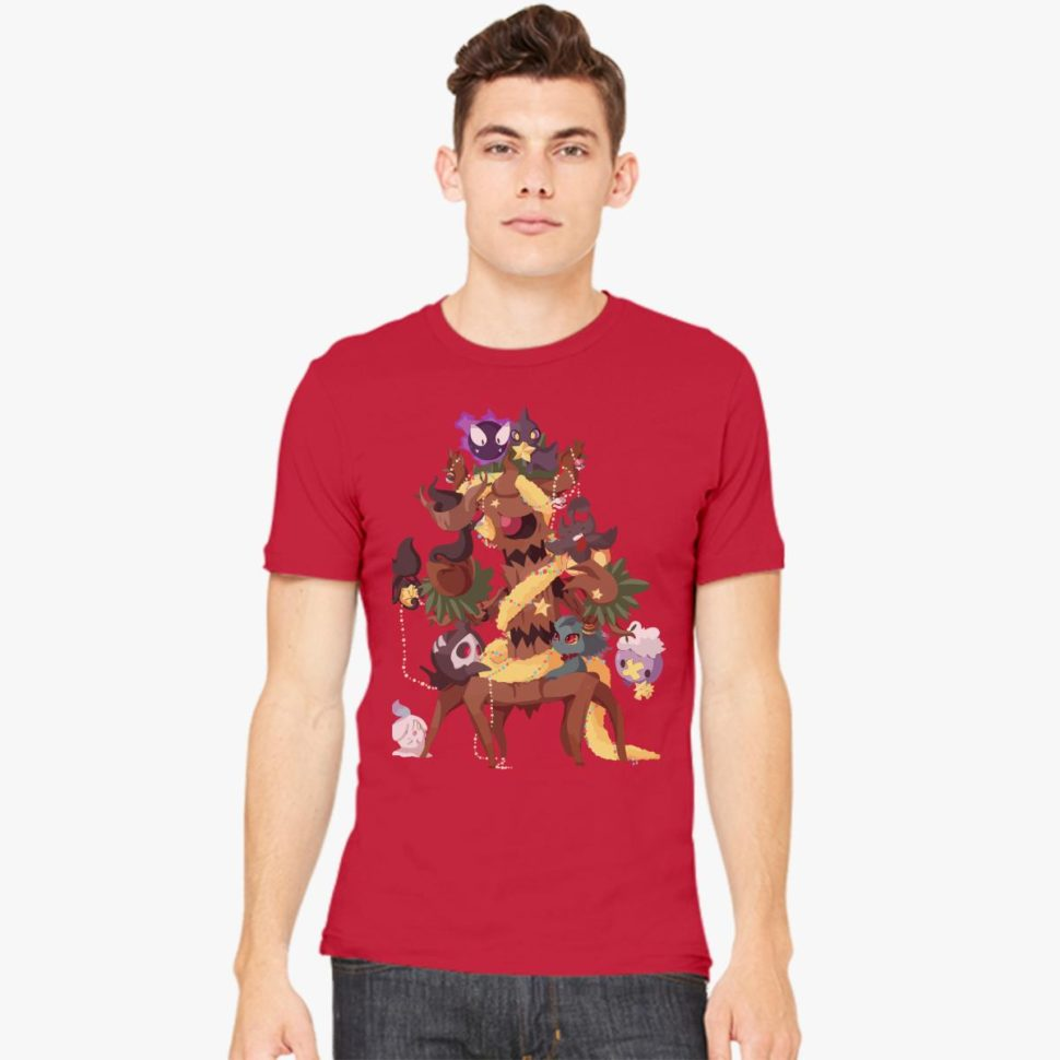 Christmas Gift Ideas for Him: Ghostly Christmas Men's T-shirt