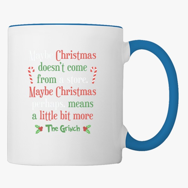 Christmas Gift Ideas for Him: Maybe Christmas Coffee Mug