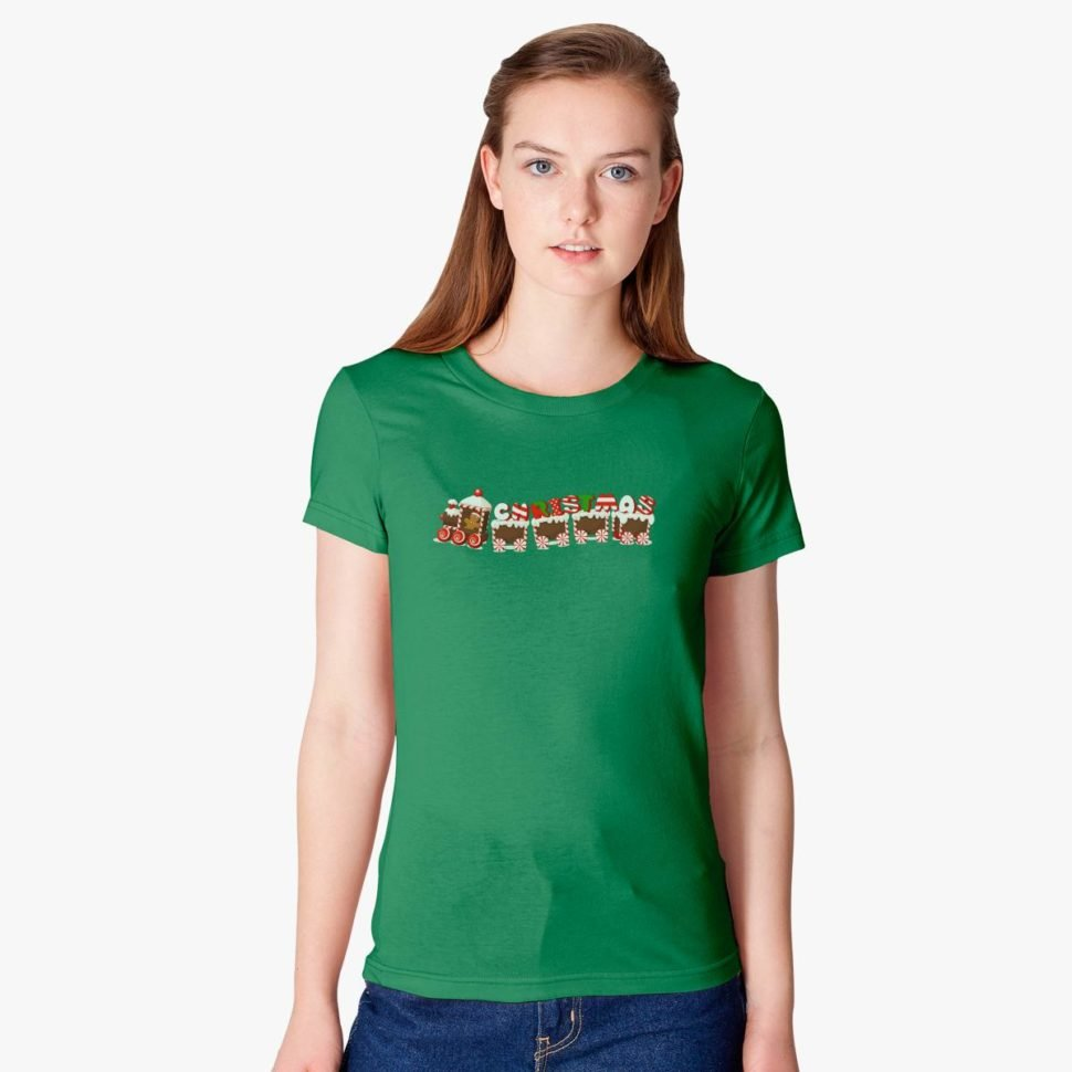Christmas Gift Ideas for Teachers Christmas Train Women's T-shirt