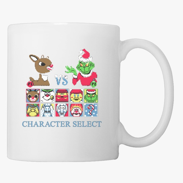 Employee Christmas Gift Ideas: Christmas Fighter Coffee Mug