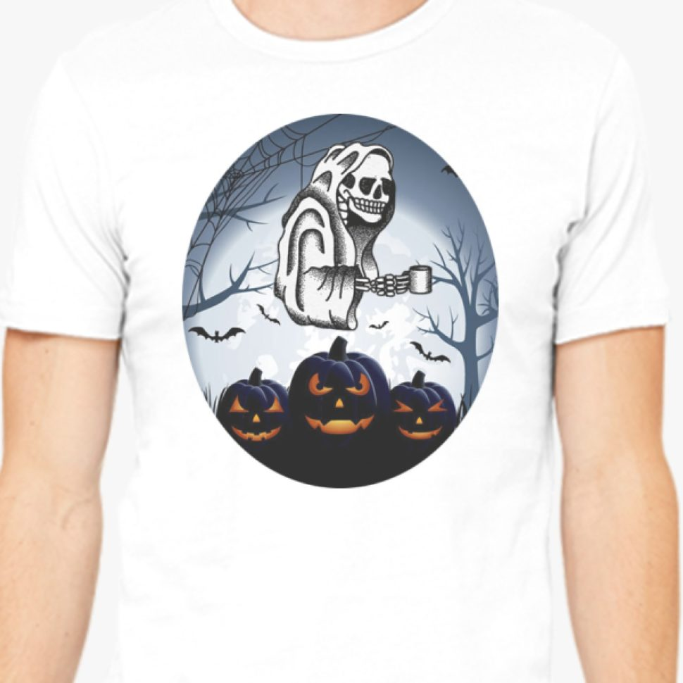 Halloween Contest 2017: Second Best Design Halloween Men T-shirt