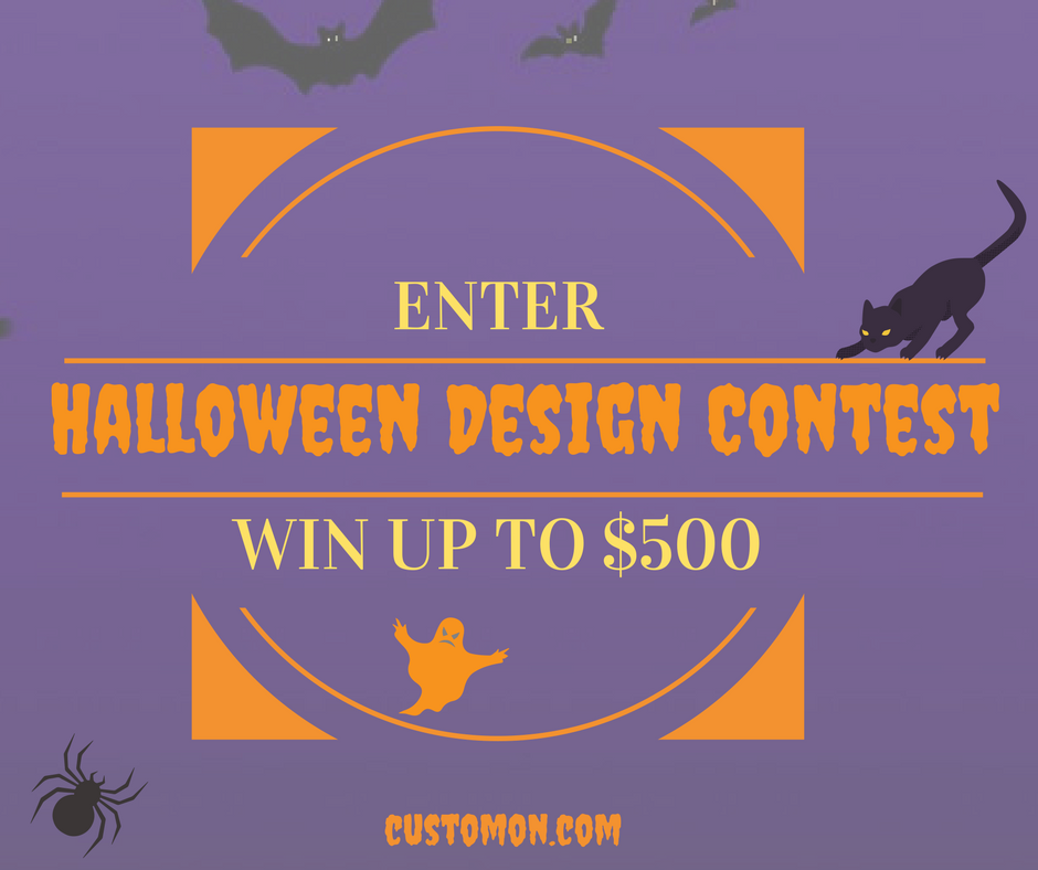 Halloween Design Contest Customon