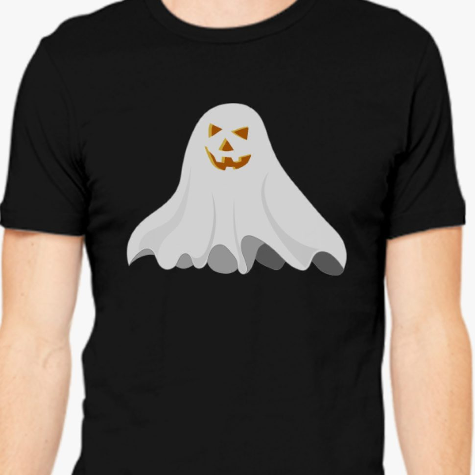Halloween Gift Ideas 2017: Halloween Men T Shirt Black