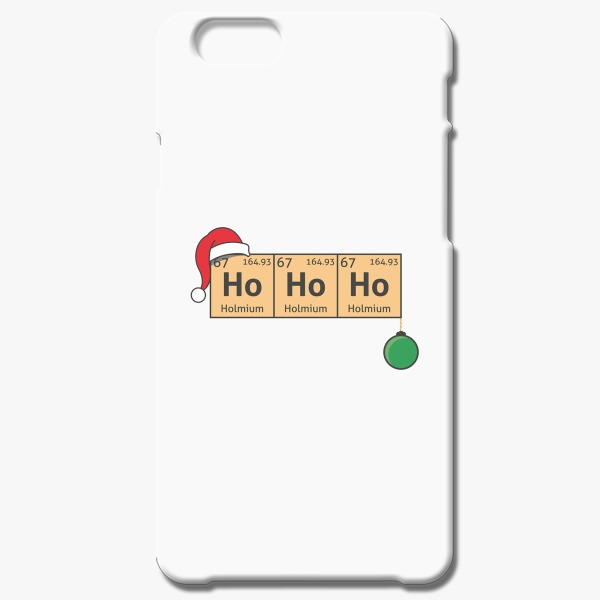 12 Days of Christmas Gift Ideas Chemistry Christmas Iphone 6/6S Case White
