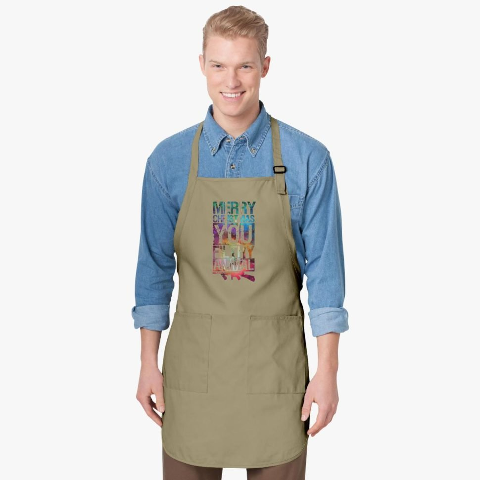 12 Days of Christmas Funny Gift Ideas Merry Christmas Ugly Galaxy Apron