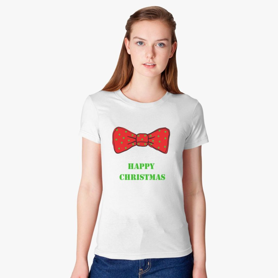 12 Days of Christmas Gift Ideas for Her: Happy Christmas Women's T-shirt