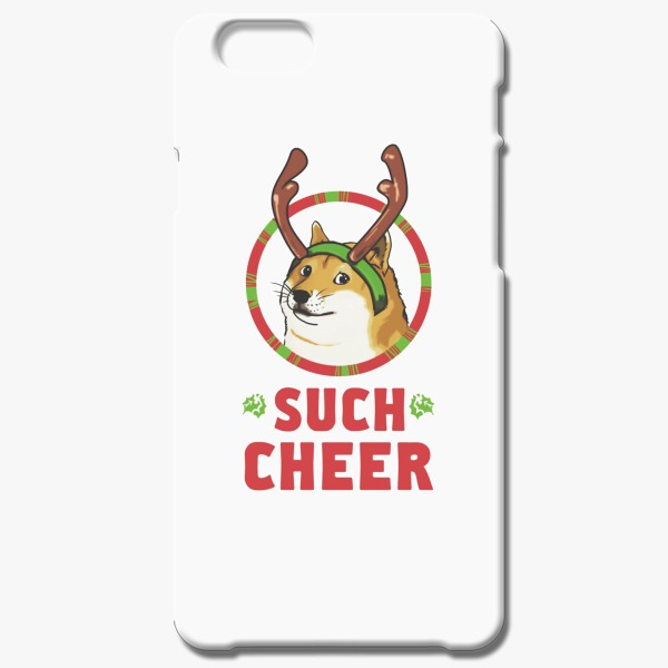 Christmas Gift Ideas for Her Christmas Doge iPhone 6-6s Case