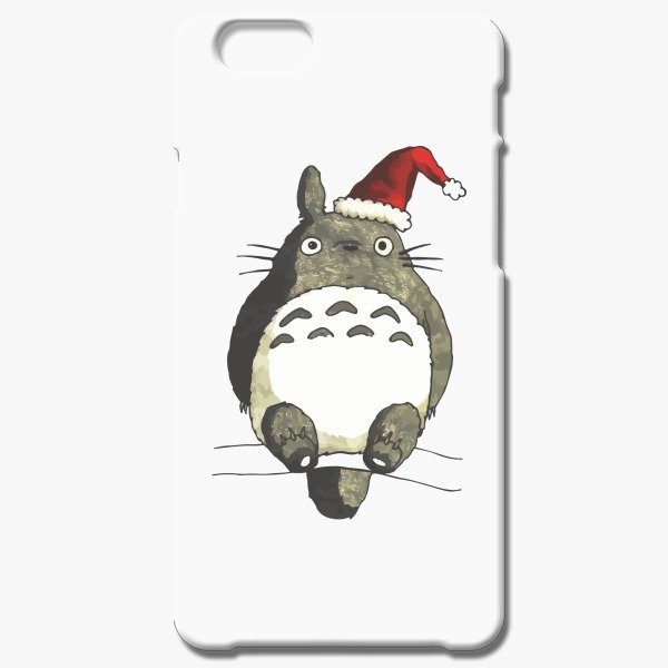 Christmas Gift Ideas for Her Totoro Christmas iPhone 6-6s Case