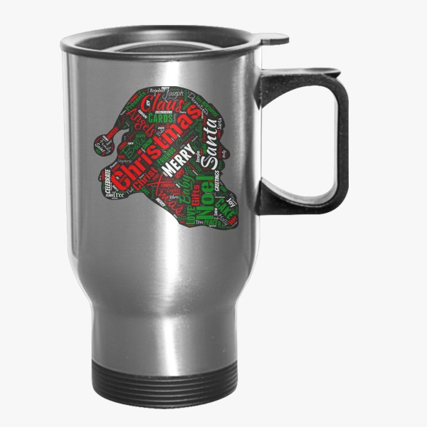 Corporate Christmas Gifts for Employees Christmas Words Travel Mug Customon