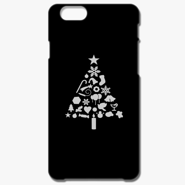 Corporate Holiday Gift Ideas for Employees Christmas Tree iPhone 6-6S Case Customon