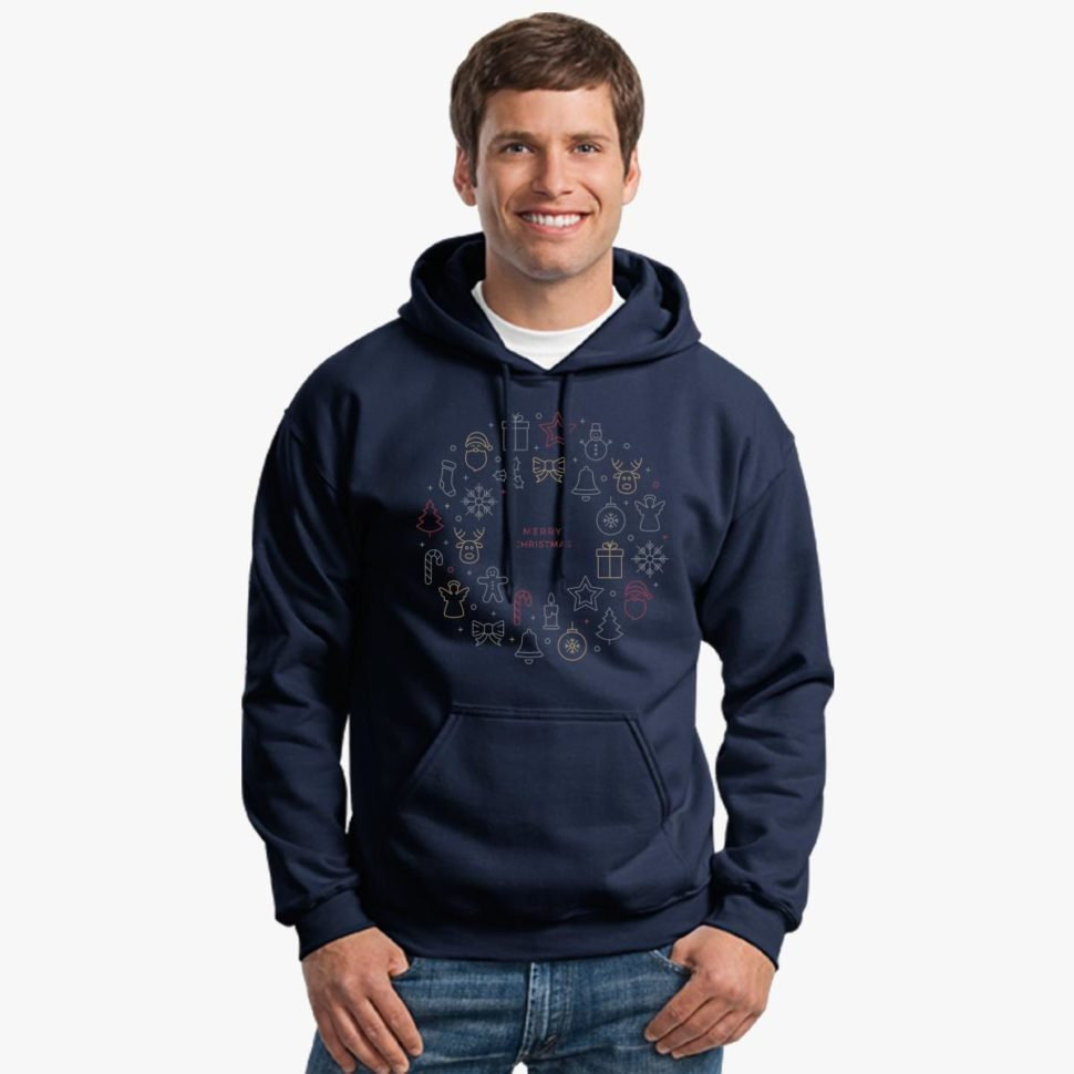 Employee Christmas Gift Ideas That Will Wow Your Team Christmas Hoodie Navy