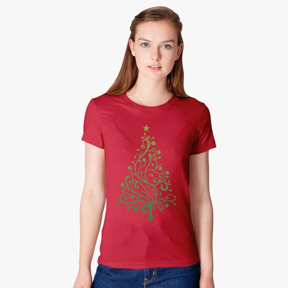 Employee Christmas Gift Ideas for Women: Christmas Women's T-shirt