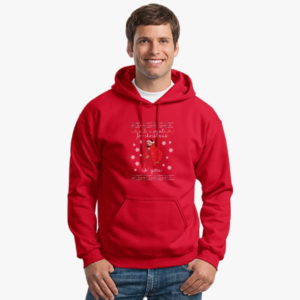 Funny Ugly Christmas Sweaters Designs for Men Drake Christmas Ugly Sweater Hoodie
