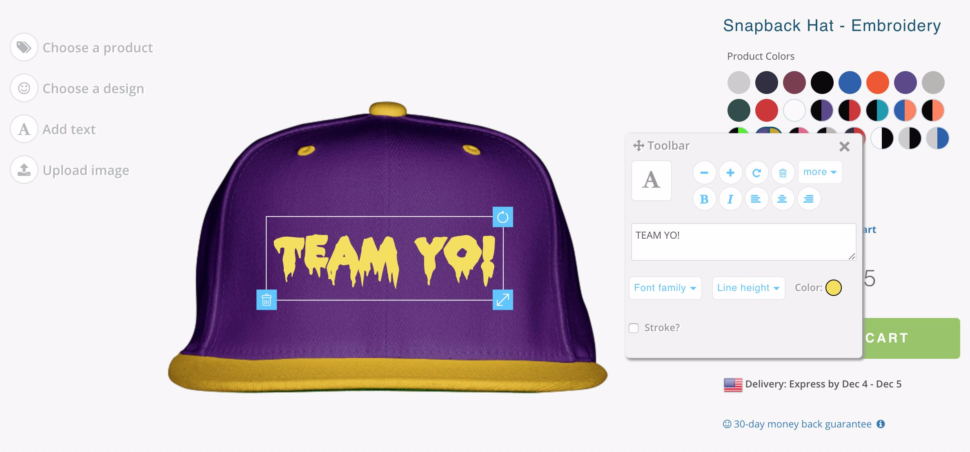 Design or Customize a Hat: Balance Your Design