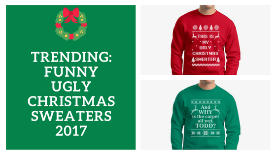 Funny Ugly Christmas Sweaters Gift Ideas to Get the Party Started