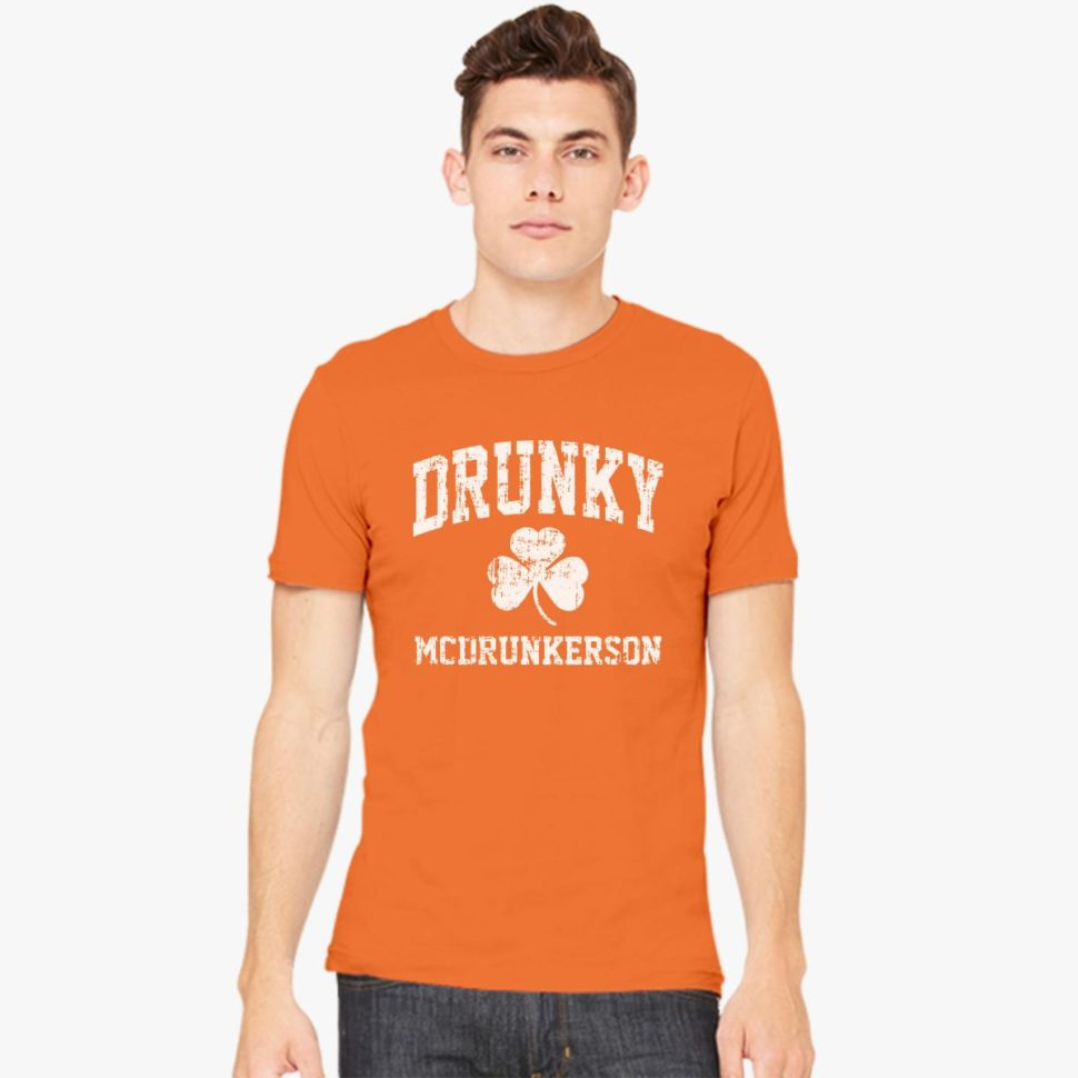 St. Patrick's Day Shirt Ideas for Men: Drunky McDrunkerson