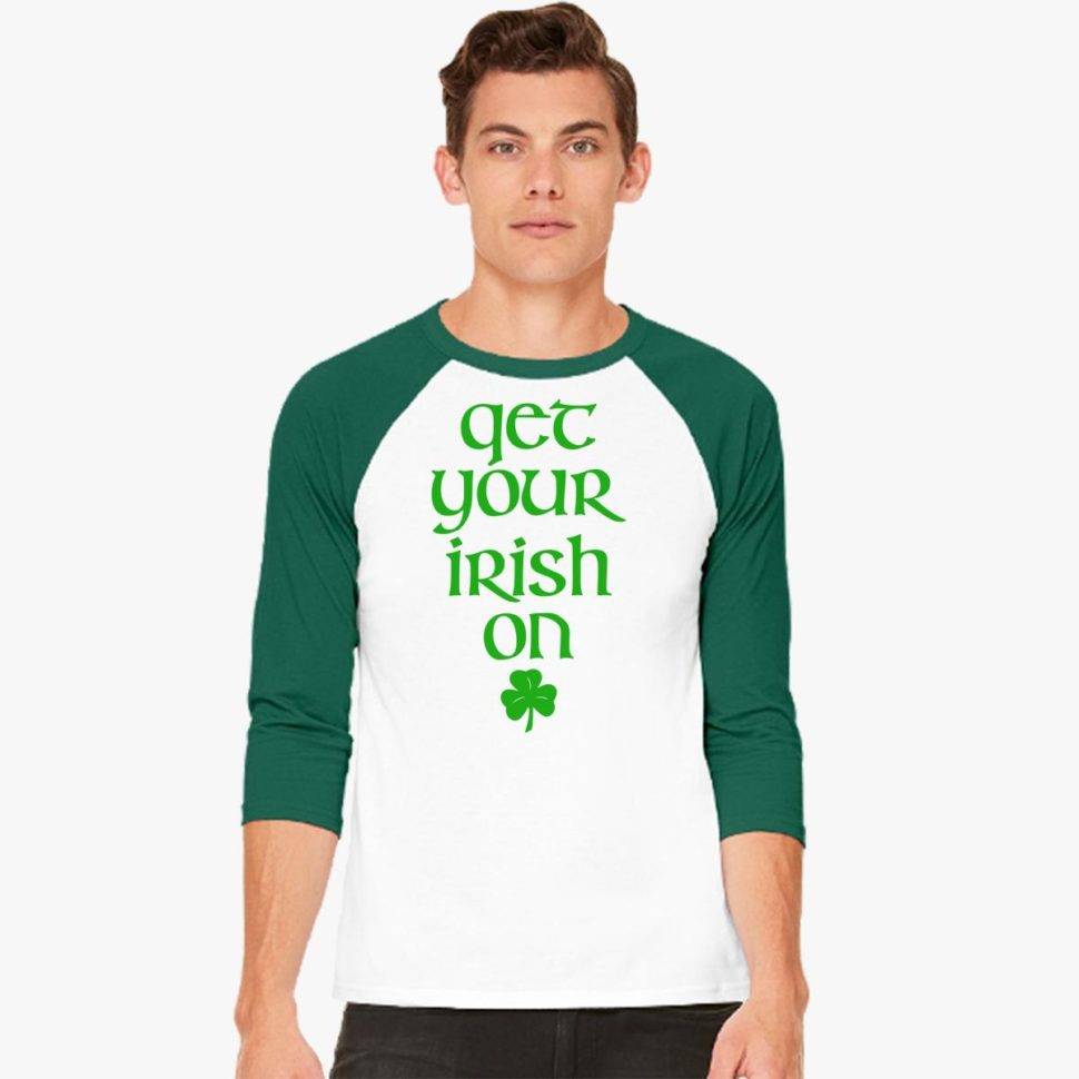 St. Patrick's Day Shirt Ideas for Men: Get Your Irish On Baseball Tee