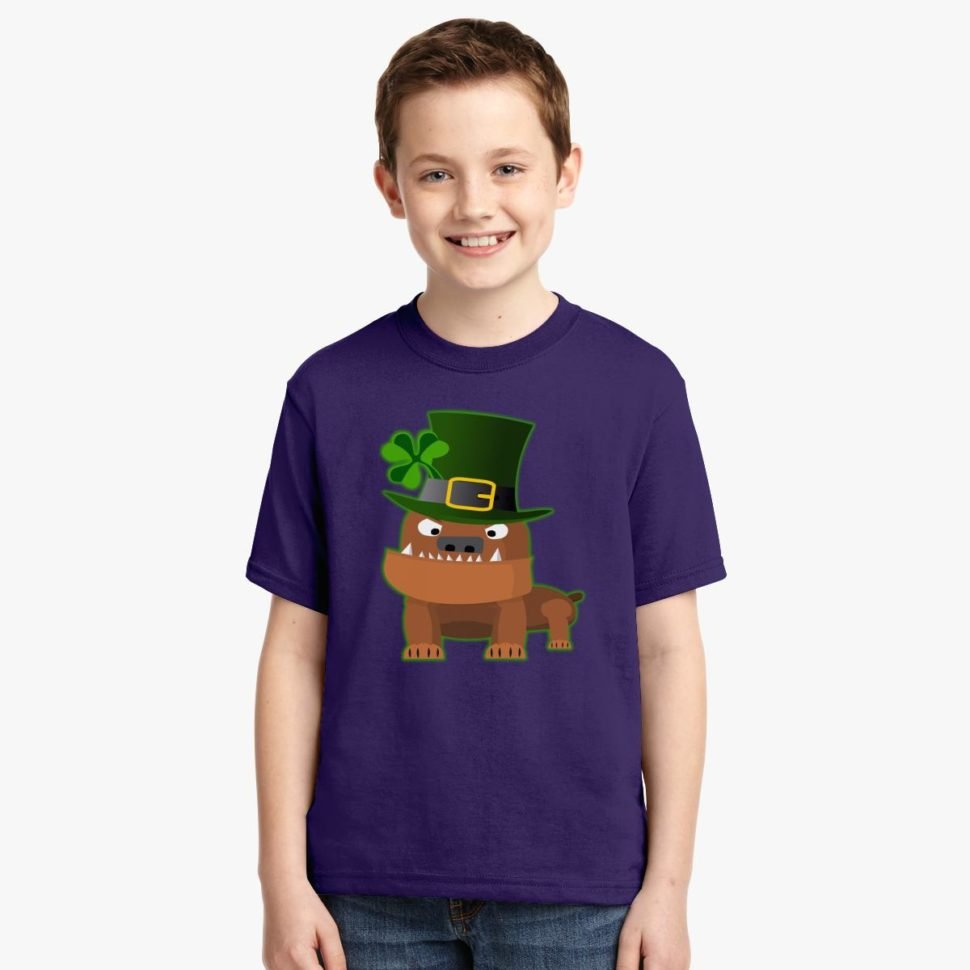St. Patrick's Day Shirt Ideas for Kids: Pug