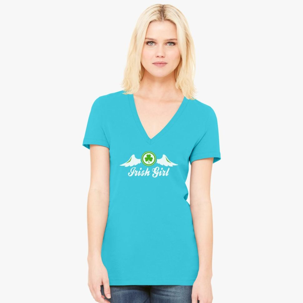 St. Patrick's Day Shirt Ideas for Women: Irish Girl Clover