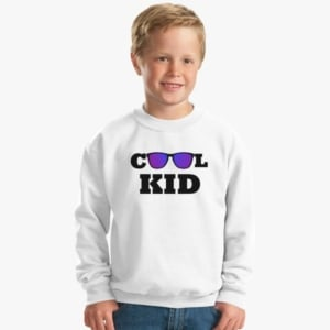 Custom printed sweatshirt for kids