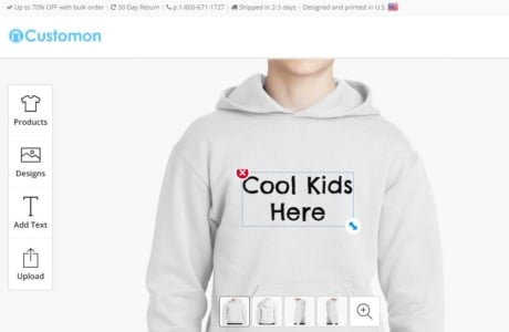 custom cool hoodies for kids